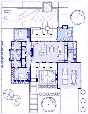 Tuscany Screened Porch Site Plan